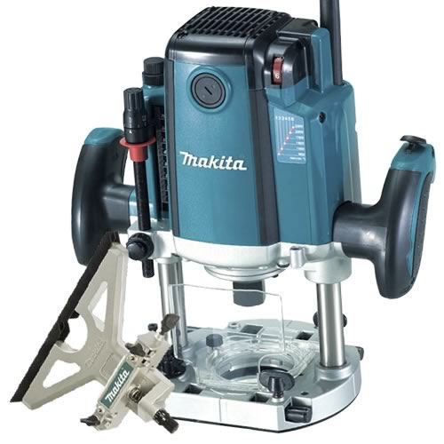 "Makita RP2301FCXK Makita Router (1/2"" Shank) Variable Speed"