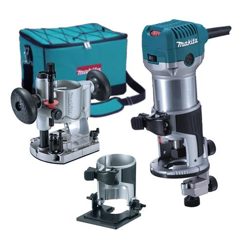 "Makita 1/4"" Router/Trimmer Kit"