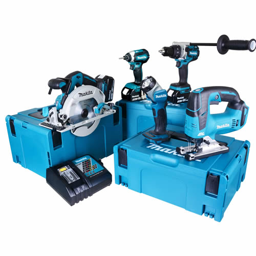 Makita TOPKIT5EJ Makita 18v 5 Piece Fully Brushless Kit