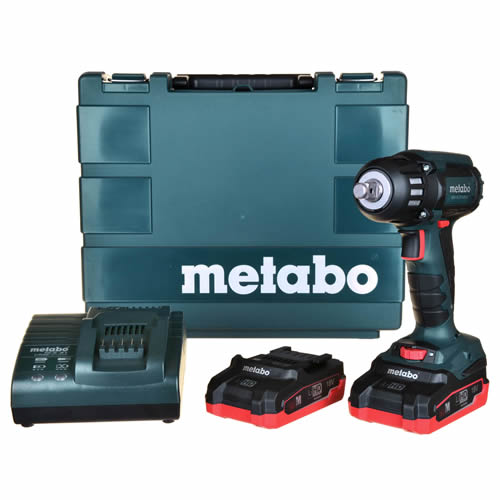 Metabo SSW 18 LTX 400 Metabo 18v LiHD High Torque Impact Wrench