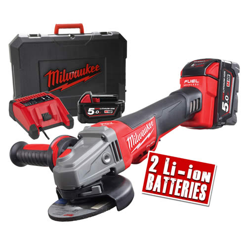 Milwaukee CAG115XPDB-502X Milwaukee 18v Brushless Fuel Grinder
