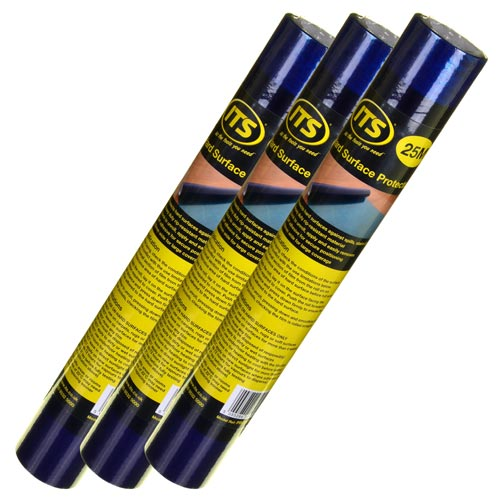ITS HPR25PK3 ITS 25m Self Adhesive Hard Floor Protector - Pack of 3