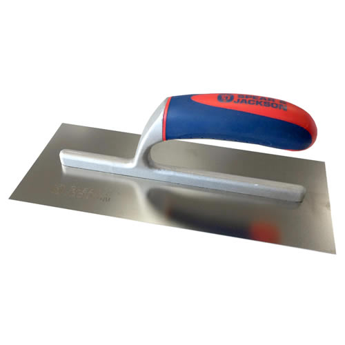 Spear & Jackson 10611SF Spear and Jackson 11'' Soft Touch Stainless Steel Finishing Trowel