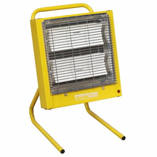 Sealey CH28110V Sealey Ceramic Heater 1.4/2.8kW - 110v