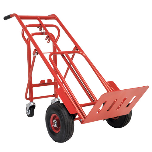 Sealey CST989 Sealey Sack Truck 3-in-1 with Pneumatic Tyre 250kg Capacity