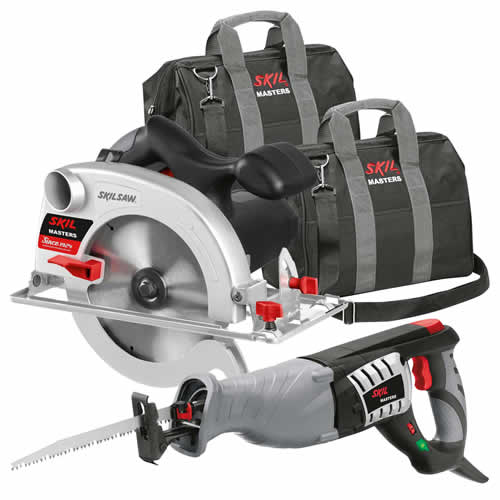Skil KIT2C Skil Masters Circular & Reciprocating Saw Pack - 240v