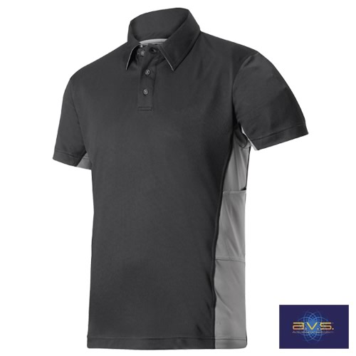 Snickers 27060418 Snickers AVS Polo Shirt (Black/Grey)