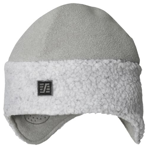 Snickers 90901800007 Snickers Grey Pile Fleece Beanie (One size)