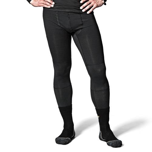 Snickers 94080400 Snickers First Layer Long Johns (Black)
