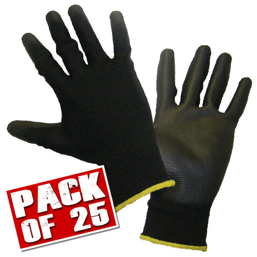Honeywell 21002519PK25 Honeywell WorkEasy Gloves (Large) Pack of 25