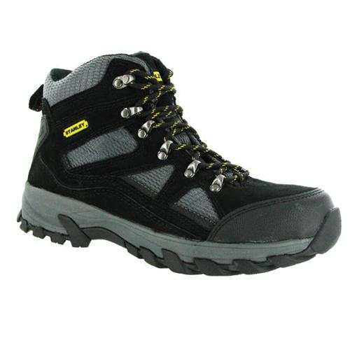 Stanley 10001110 Stanley Madison Safety Boots (Black/Grey)