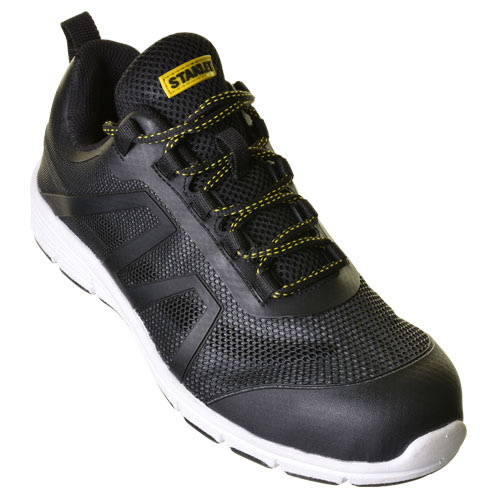 Stanley 10019159 Stanley Harlem Safety Trainer (Black/Grey)