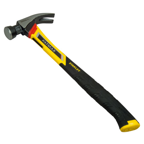Stanley 151244 Stanley fatMax 17oz Vibration Dampening Curved Claw Hammer