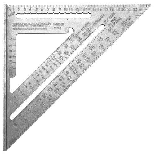 Swanson NA202 Swanson 250mm Square (Metric Scale Only)