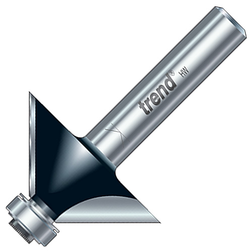 """Trend 1/2C197 Trend Guided Chamfer Cutter (1/2"""" Shank)"""