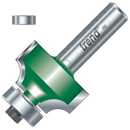 """Trend C198 16mm Trend Ovolo/Roundover Cutter (1/2"""" Shank)"""