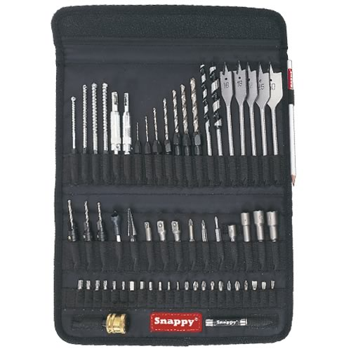 Snappy SNAP/TH2/SET Snappy Drill Bit Set 60pce