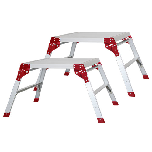 Ultex ULT15007B Ultex Aluminium Square Work Platform 600mm x 600mm Pack of 2