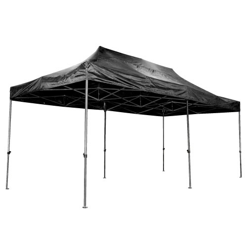Ultex 180022 Ultex Black Folding Gazebo 3m x 6m