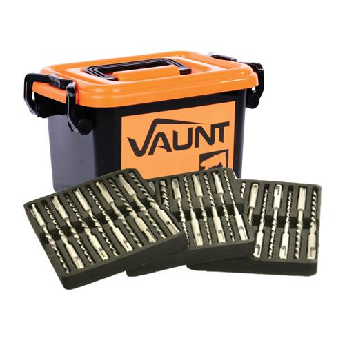 Vaunt VNT30003 Vaunt 30 Piece SDS+ Hammer Drill Bit Trade Pack