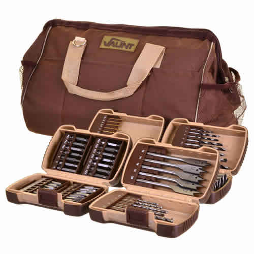 Vaunt 30050 Vaunt 79 Piece Drill Accessory Set with Carry Bag