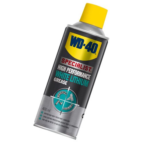 WD40 44390 WD-40 High Performance White Lithium Grease 400ml