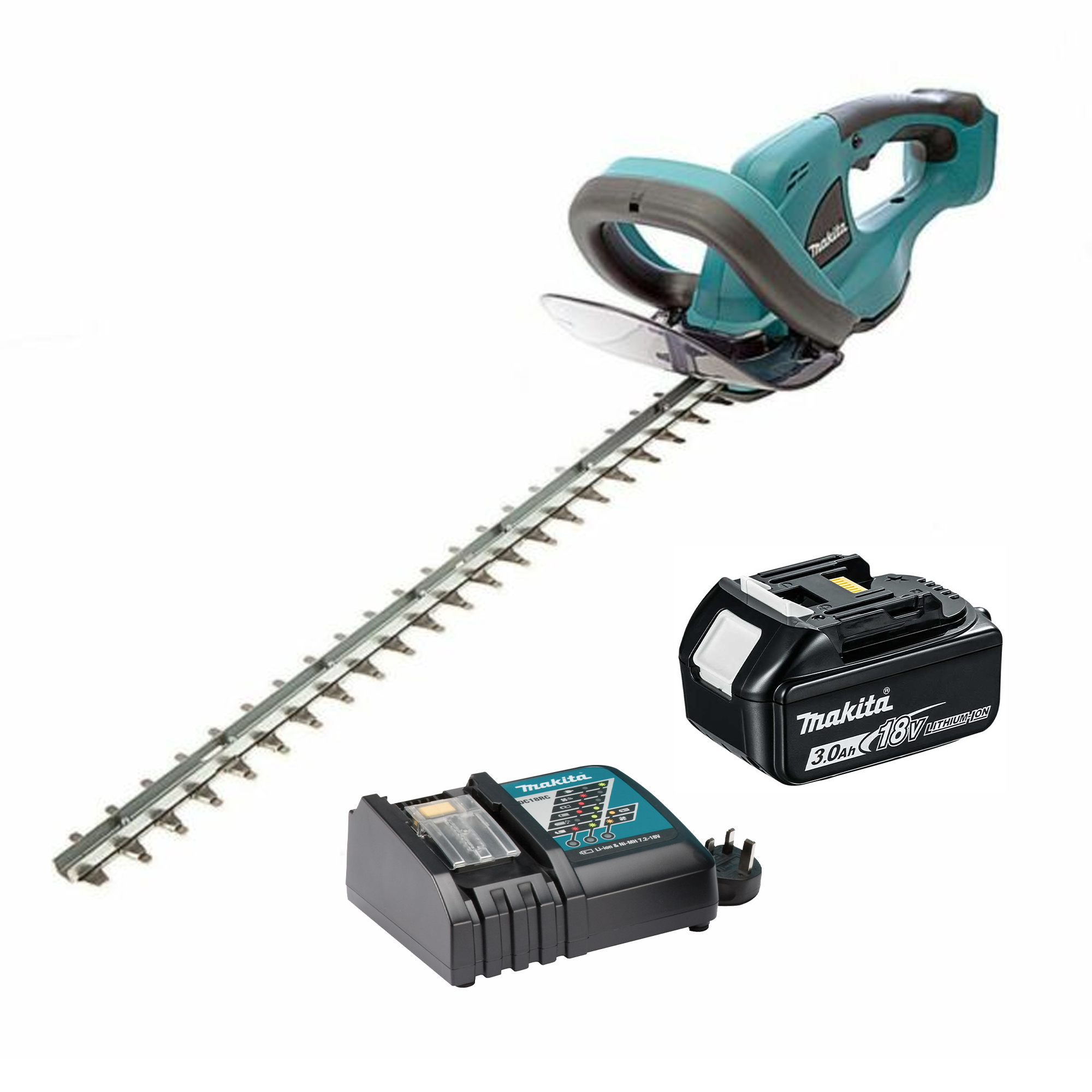 makita duh523rfx makita 18v lithium ion 52cm hedge trimmer. Black Bedroom Furniture Sets. Home Design Ideas