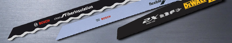Jigsaw Recip Saw Blades