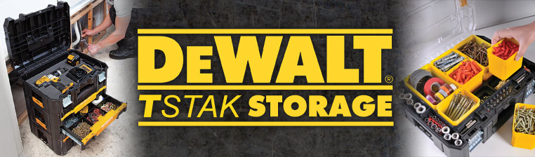Dewalt TStak Stackable Storage