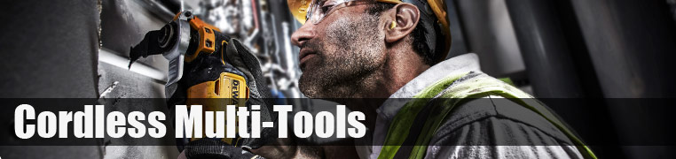 Dewalt and Makita Cordless Multi Tool