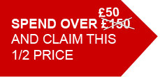 Spend £150 and claim...