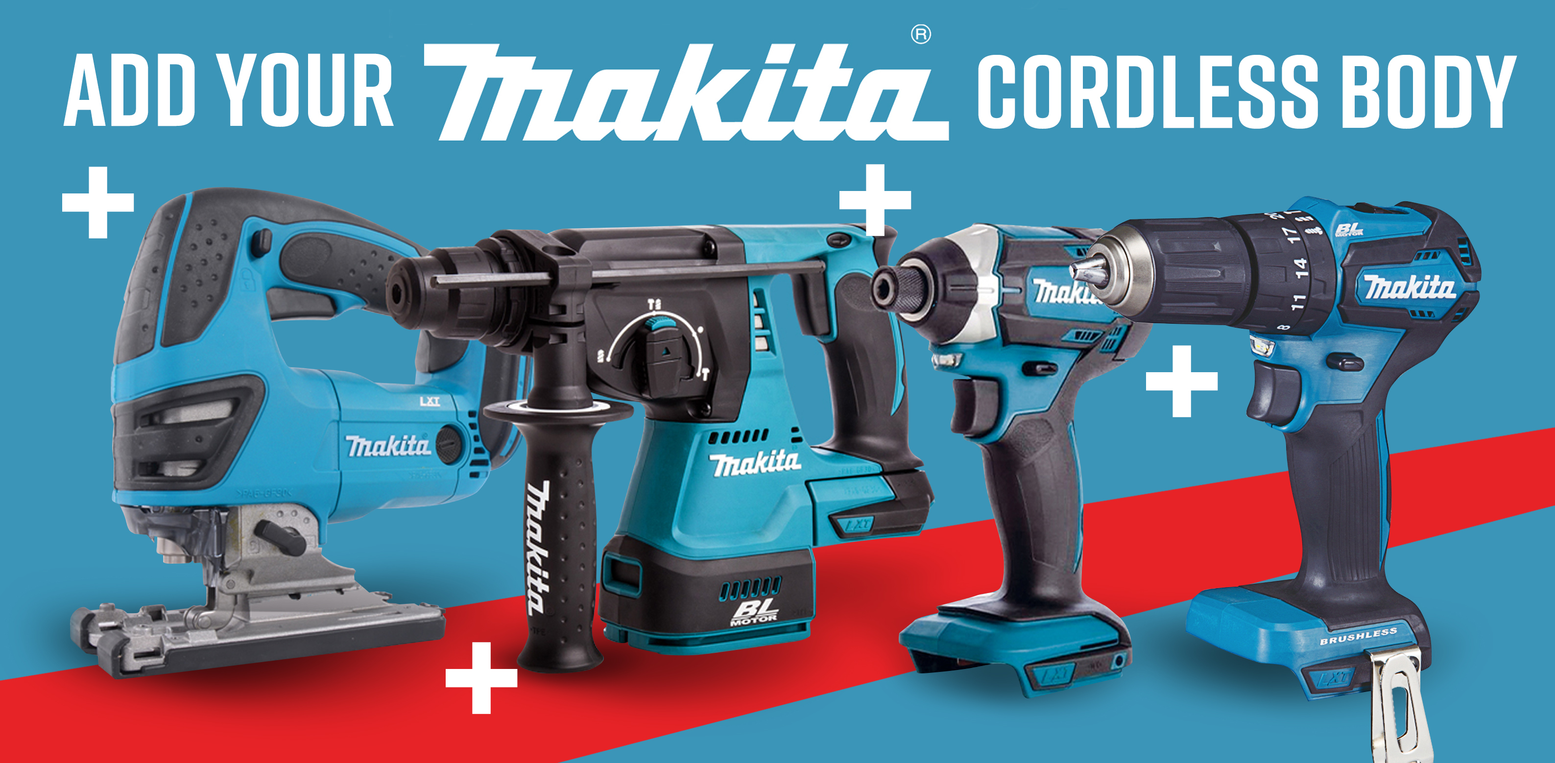 Add To Your Kits with Makita Body Only units