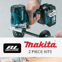Makita Brushless 2 Piece Kits