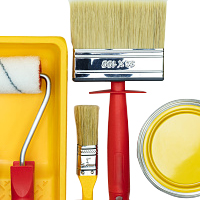 Paint, Paste Brushes & Rollers