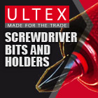 Ultex Screwdriver Bits and Holders