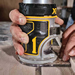 """Dewalt DCW604NT-XJ 18V XR Brushless ¼"""" Router With Fixed & Plunge Bases_Alt_Image_6"""