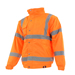Dickies SA22050OR Dickies Hi-Vis Bomber Jacket (Orange)_Alt_Image_1
