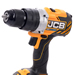 JCB 18BLCD 18v Brushless Combi with 1 x 2Ah + 1 x 4Ah Batteries, Charger and Case_Alt_Image_2