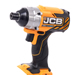 JCB 18BLID-ITS-4X 18v Brushless Impact Driver with 1 x 4Ah Battery, Charger and Case_Alt_Image_2