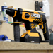 JCB 18BLRH-5X 18v Brushless SDS+ Drill with 1 x 5Ah Battery, Charger and Case_Alt_Image_2