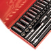 "Sealey AK690 Sealey Socket Set 41pc 1/4""Sq Drive 6pt WallDrive® - DuoMetric®_Alt_Image_1"