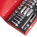 "Sealey AK692 Sealey Socket Set 45pc 3/8""Sq Drive 6pt WallDrive® - DuoMetric®_Alt_Image_1"