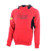 Snickers 28151604 High Neck Logo Hoodie - Red_Alt_Image_1