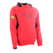 Snickers 28151604 High Neck Logo Hoodie - Red_Alt_Image_2