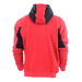 Snickers 28161604 Zipped Sweatshirt Hoodie - Red_Alt_Image_3