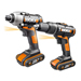Worx WX938 20v MAX 2 Piece Kit with 2 x 1.5Ah Batteries, Charger and Bag_Alt_Image_1