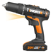 Worx WX938 20v MAX 2 Piece Kit with 2 x 1.5Ah Batteries, Charger and Bag_Alt_Image_2
