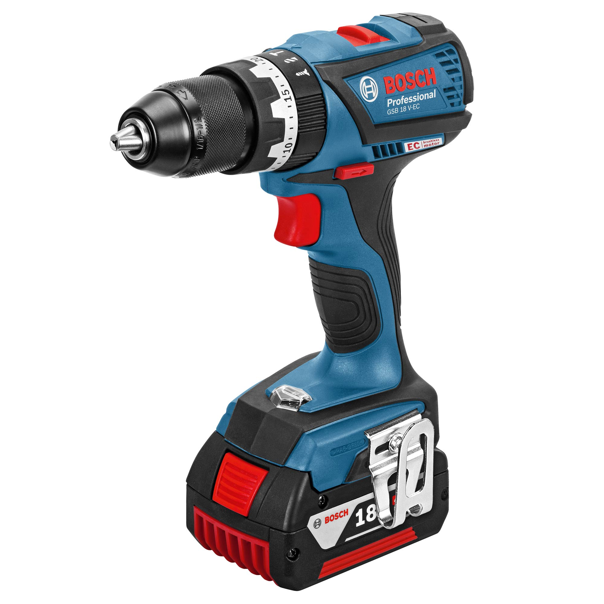 bosch gsb 18 v ec 1 bosch 18v li ion brushless hammer drill driver. Black Bedroom Furniture Sets. Home Design Ideas