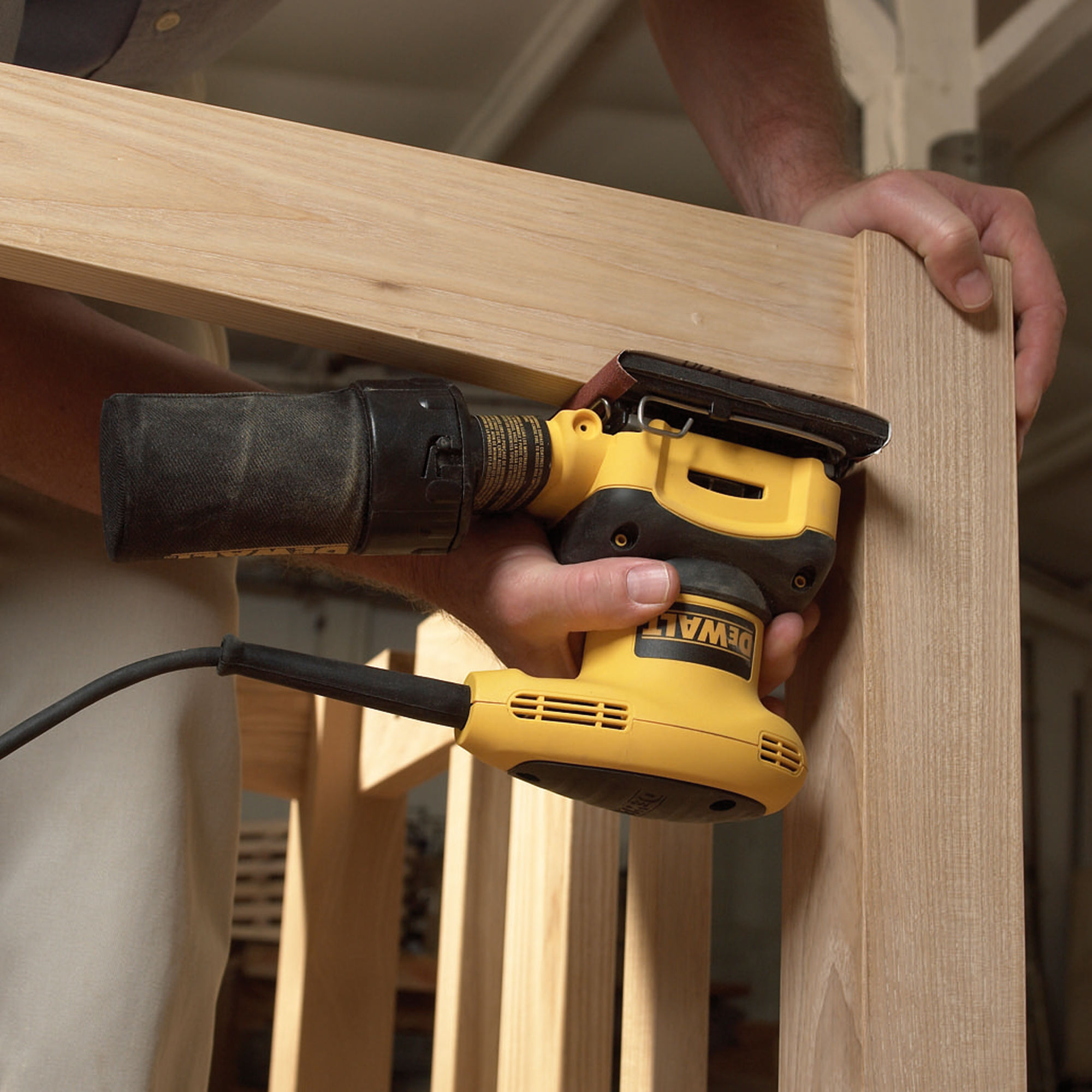 Dewalt palm sander d26441 how to stop beads from sliding