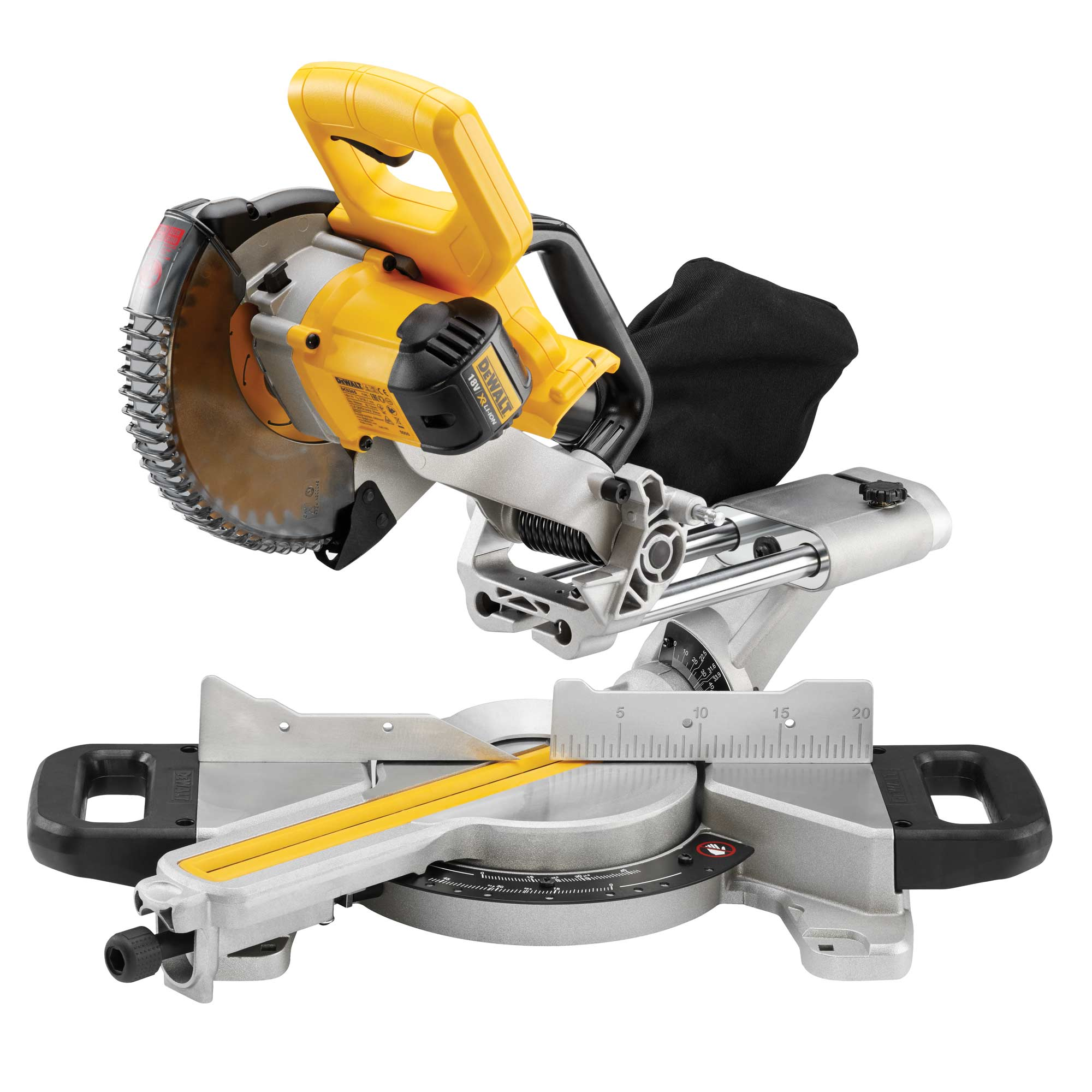 dewalt dcs365 dewalt 18v li ion cordless mitre saw with xps body only. Black Bedroom Furniture Sets. Home Design Ideas